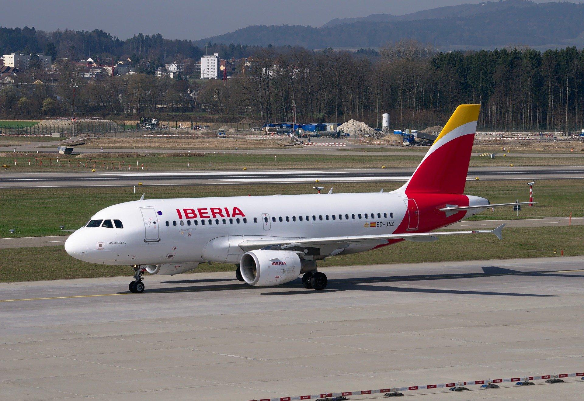Iberia cancela los vuelos a China temporalmente